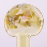 White Onyx on 008 Transparent Pale Amber