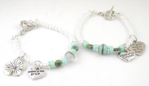 Mother of the Bride and Groom Bracelets
