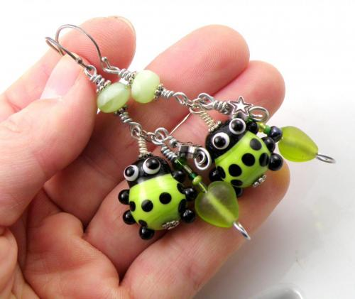 Lime Ladybugs
